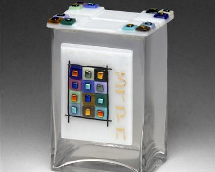 12 Tribes Tzedakah Box by Beames Designs-tzedakah box-AllThingsJewish.com