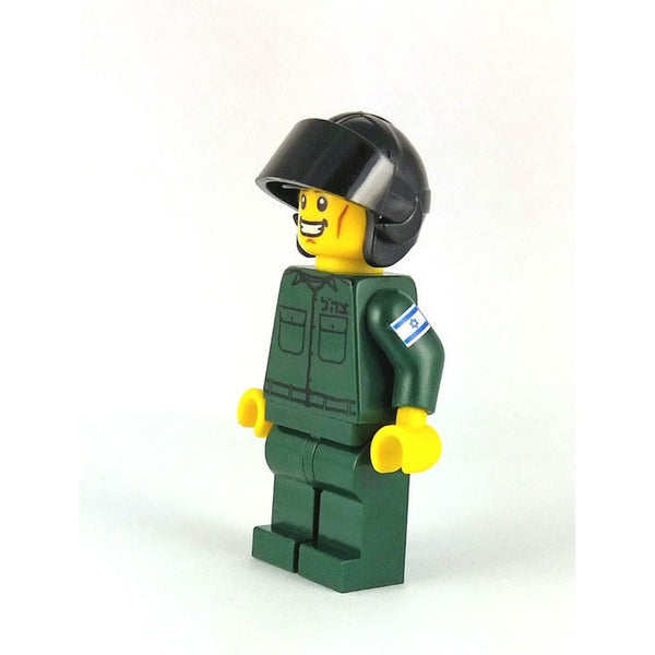 Custom LEGO® IAF Air Force Pilot Mini-Figure by Jbrick-AllThingsJewish.com
