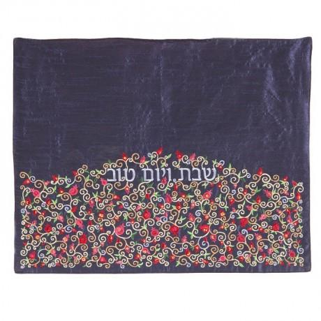 Field of Flowers Challah Cover by Yair Emanuel-challah cover-AllThingsJewish.com