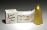 Silk Bijoux Chuppah Wedding Glass-breakable wedding glass-AllThingsJewish.com