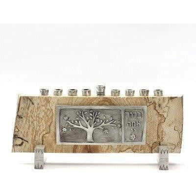Tree of Life Menorah by Emily Rosenfeld-menorah-AllThingsJewish.com