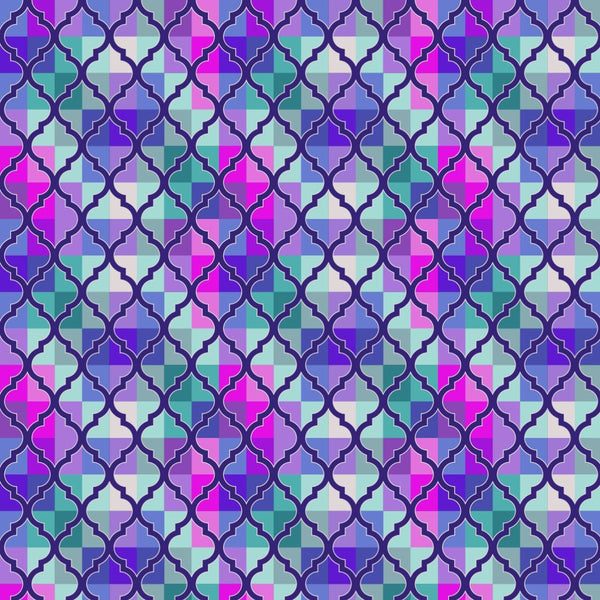 """Enchanted Window"" Purple - Pattern Vinyl and Heat Transfer Vinyl"