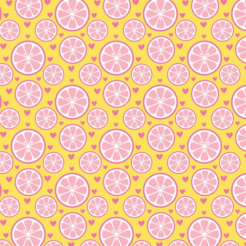 """Lemonaide"" - Pattern Vinyl and Heat Transfer Vinyl"