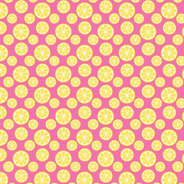 """Lemony Day"" - Pattern Vinyl and Heat Transfer Vinyl"