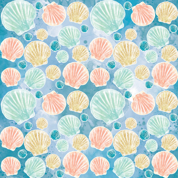 """Seashells by the Seashore"" Permanent Craft Vinyl and Heat Transfer Vinyl"