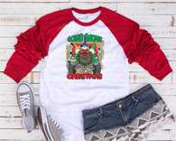 """Gnome for Christmas""   -Ready to Press Heat Transfer/Sublimation Transfer"