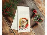 """Vintage Santa Merry Christmas""-Ready to Press Sublimation Transfer"