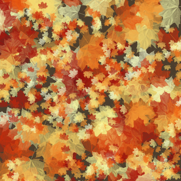 """Autumn Tapestry"" Permanent Adhesive Vinyl OR Heat Transfer Vinyl"
