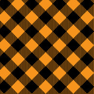 """Halloween Plaid 5"" Permanent Adhesive Vinyl and Heat Transfer Vinyl"