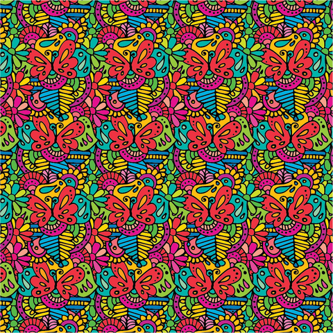 """Butterfly Kisses""- Pattern Vinyl and Heat Transfer Vinyl"