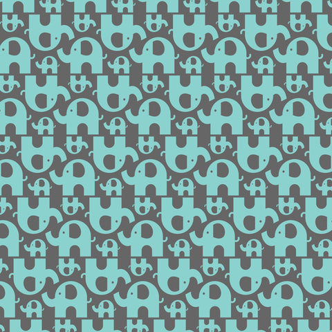"""Elephant Stampede"" - Pattern Vinyl and Heat Transfer Vinyl"