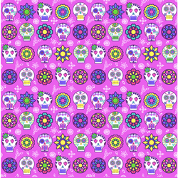"""Sugar Skull Pink"" Permanent Adhesive Vinyl and Heat Transfer vinyl"