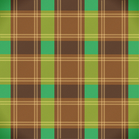 """Fall Wide Plaid 1"" Permanent Adhesive Vinyl and Heat Transfer Vinyl"