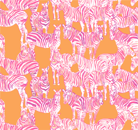 """Hot Zebra Day"" Heat Transfer Vinyl Sheets and Permanent Adhesive Vinyl Sheets"