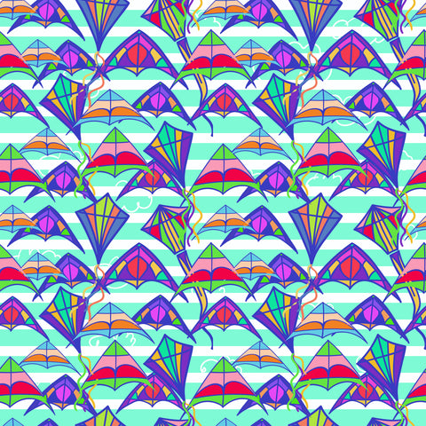"""Let's Fly a Kite"" - Pattern Vinyl and Heat Transfer Vinyl"