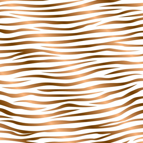 """Copper Zebra"" Permanent Adhesive Vinyl and Heat Transfer Vinyl"