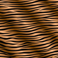 """Brown Zebra Stripes"" Permanent Adhesive Vinyl and Heat Transfer Vinyl"