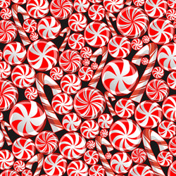 """Peppermint Crush "" Permanent Adhesive Vinyl OR Easy Heat Transfer Vinyl"