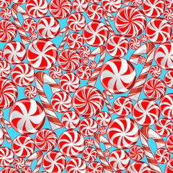 """Peppermint Bliss "" Permanent Adhesive Vinyl OR Easy Heat Transfer Vinyl"
