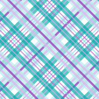 """Plaids Aqua Purple 201"" Pattern Vinyl and Heat Transfer Vinyl"