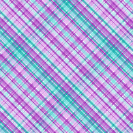 """Plaids Aqua Purple 202"" Pattern Vinyl and Heat Transfer Vinyl"