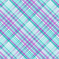 """Plaids Aqua Purple 203"" Pattern Vinyl and Heat Transfer Vinyl"