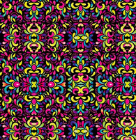"""Neon Splash"" - Pattern Vinyl and Heat Transfer Vinyl"