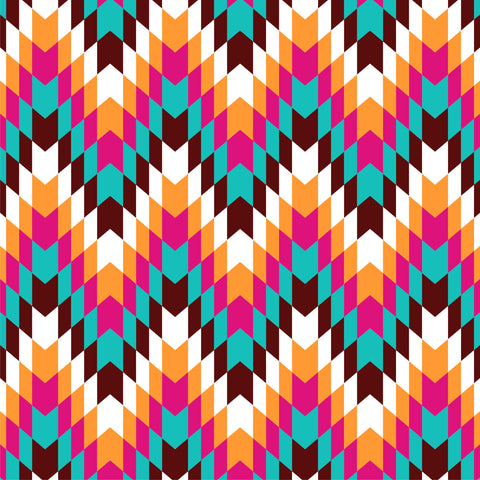 """Tribal Peaks""- Pattern Vinyl and Heat Transfer Vinyl"