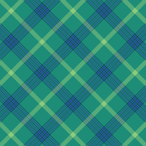 """Whimsy Lights Plaid Four ""  Permanent Adhesive Vinyl and Heat Transfer Vinyl"