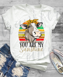 """You Are My Sunshine Heifer"" - Ready to Press Vinyl OR Sublimation Transfer"