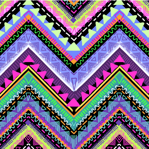 """Aztec Ribbon"" Heat Transfer Vinyl Patterns"