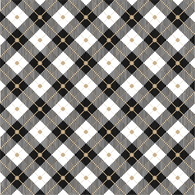 """Black Lumberjack Plaid "" Permanent Adhesive Vinyl OR Easy Heat Transfer Vinyl"