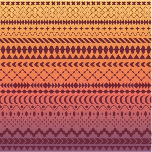 """Boho Sundown"" - Heat Transfer Vinyl Patterns"