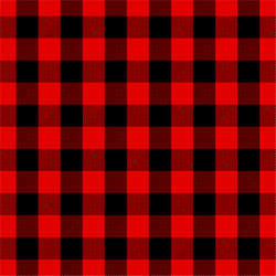 """Buffalo Plaid- Red and Black "" Permanent Adhesive Vinyl OR Easy Heat Transfer Vinyl"