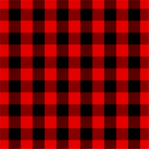 Buffalo Plaid- Red and Black