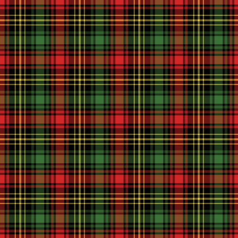 """Christmas Dinner Plaid "" Permanent Adhesive Vinyl OR Easy Heat Transfer Vinyl"