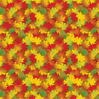 """Colors of Autumn"" Permanent Adhesive Vinyl OR Heat Transfer Vinyl"