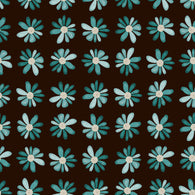 """Fall Blue Daisies"" Permanent Adhesive Vinyl and Heat Transfer Vinyl"