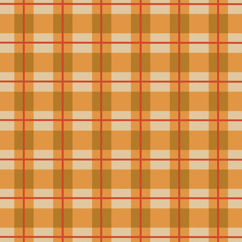 """Fall Fun Plaid"" Permanent Adhesive Vinyl and Heat Transfer Vinyl"
