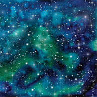"""Galaxy Green"" - Pattern Vinyl and Heat Transfer Vinyl"