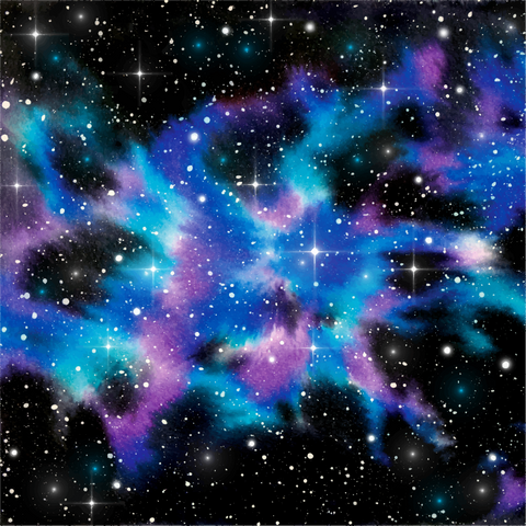 """Galaxy in the Dark"" - Pattern Vinyl and Heat Transfer Vinyl"