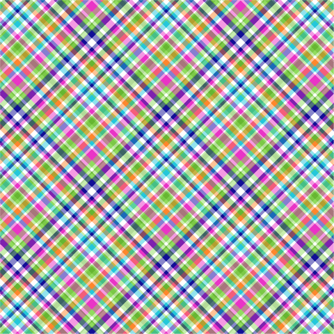 """Hippie Plaid"" - Pattern Vinyl and Heat Transfer Vinyl"
