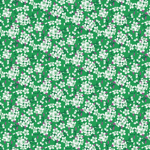 """Holiday Blossoms""  Pattern Vinyl and Heat Transfer Vinyl"