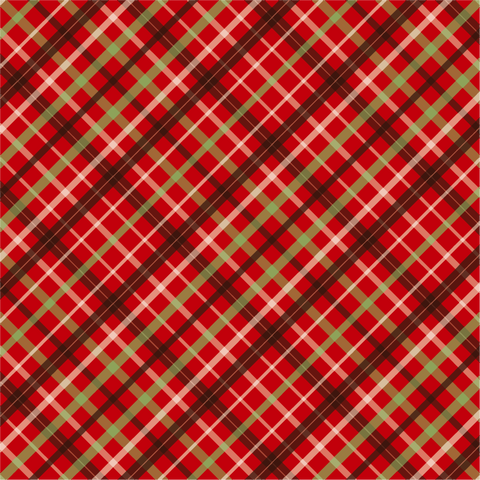 """Holiday Dress Plaid""  Pattern Craft Vinyl and Heat Transfer Vinyl Sheet"