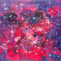 """Hot Bright Galaxy"" - Pattern Vinyl and Heat Transfer Vinyl"