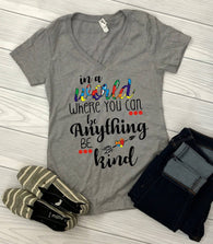 "Autism Shirts, Be Kind, Autism Awareness SVG, Autism Speaks , T-Shirt Transfer,""Be kind"" Autism Speaks PrintedTransfer"