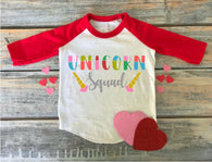UNICORN SQUAD, Unicorn Designs- Ready to Press Vinyl Transfers or Sublimation Transfers