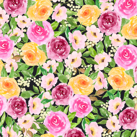 "Adhesive Vinyl, Heat Transfer Vinyl, Pattern Vinyl, Printed Vinyl, HTV, Iron on Vinyl, Vinyl Sheets,  Vinyl sheet, ""Fancy Floral 6"""