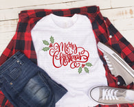 "Christmas Sublimation transfer, Pillow Transfers ,""Merry Christmas"" Printed Heat Vinyl Transfer, Sublimation,Vinyl Christmas Transfer"