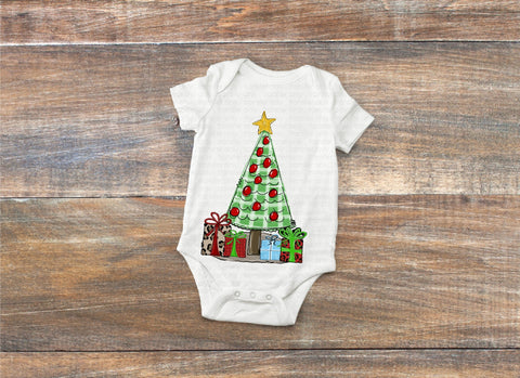 Christmas Baby Sublimation transfer, Baby Transfer Vinyl, First Christmas Tree  Onesie Transfer, Onesie Ready to Press Transfer